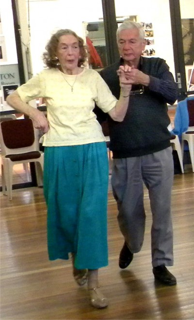 Members of the Canberra Seniors Centre taking part in New Vogue and Old Time Dances.