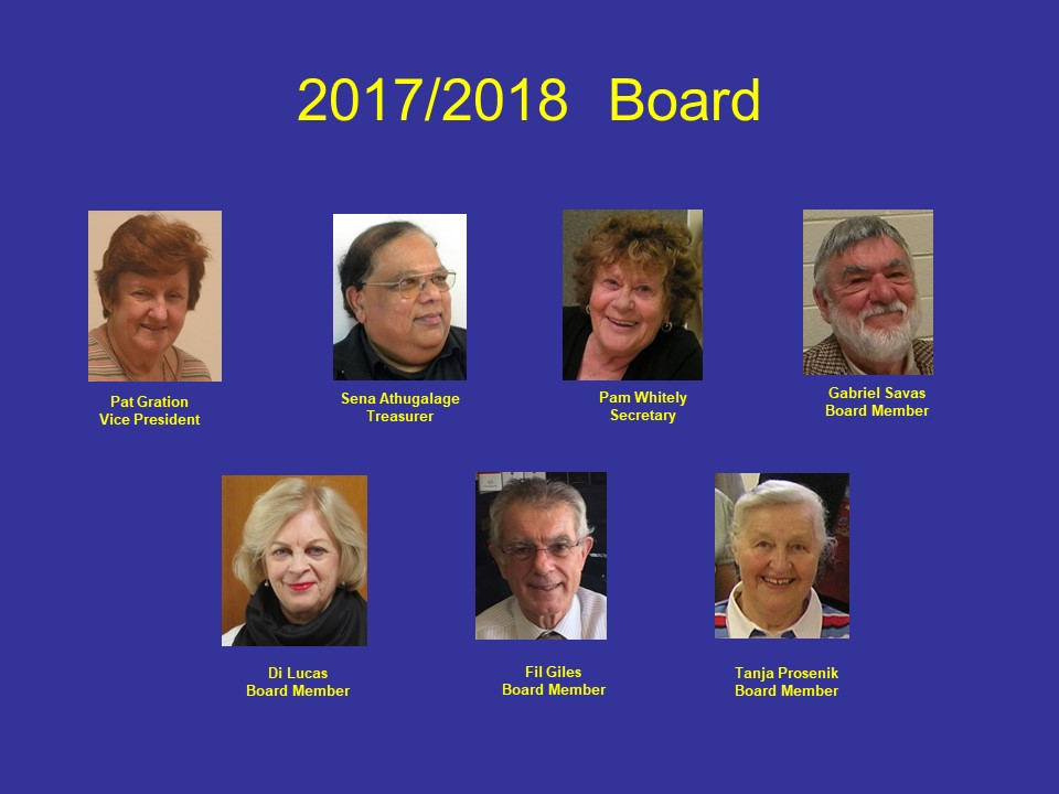 Board Pictures 2017 - 2018 Dec.