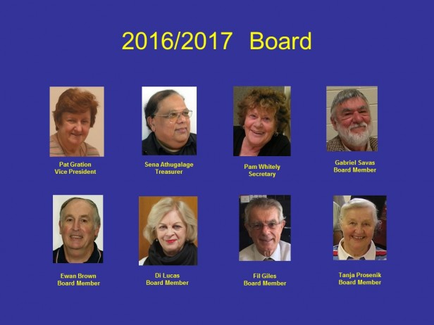 Board pictures 2016-2017 September
