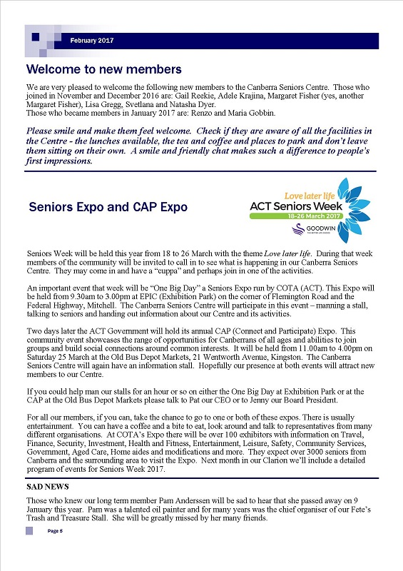February 2017 Newsletter page 5