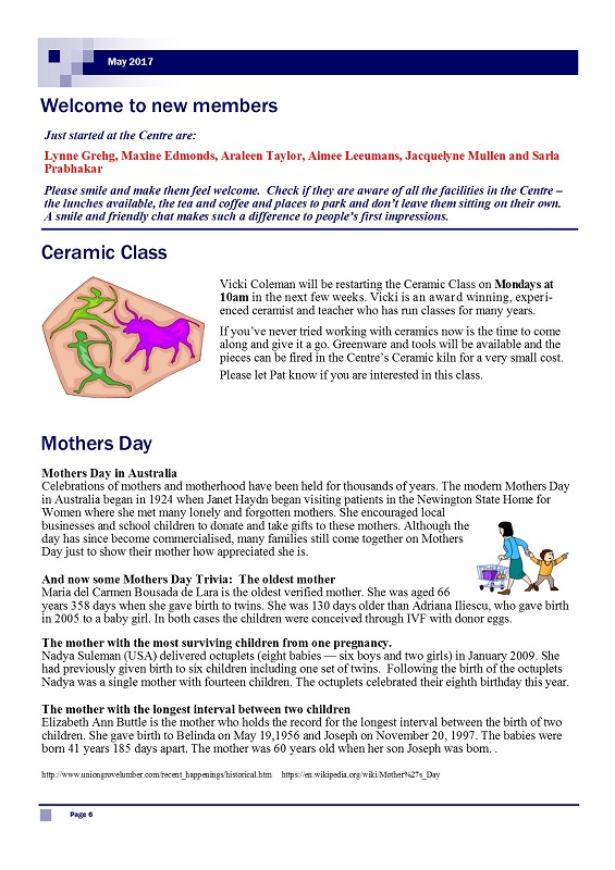 May 2017 Newsletter page 7