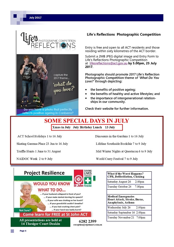July 2017 Newsletter page 4