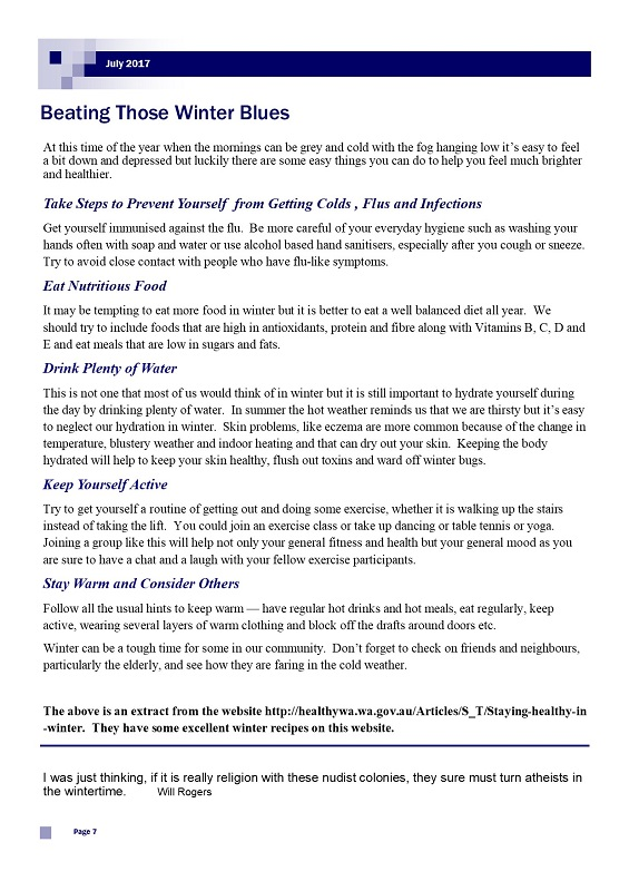 July 2017 Newsletter page 7