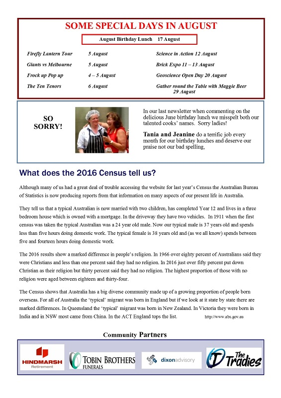 August 2017 Newsletter page 5