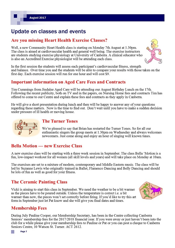 August 2017 Newsletter page 7