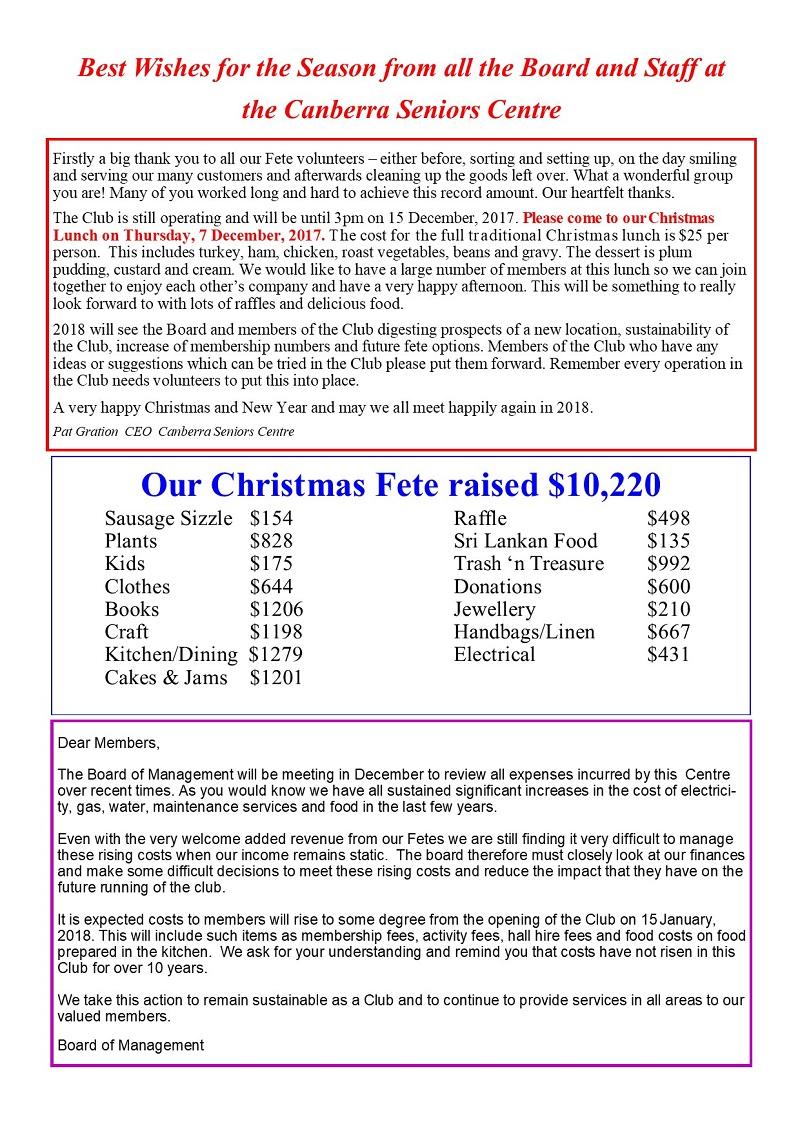 Xmas Message 2017 page 2